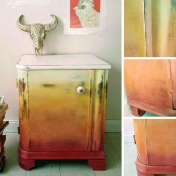 Erzsébet szekrény színesen